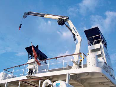 кран-манипулятор Palfinger PK8501M в морском исполнении