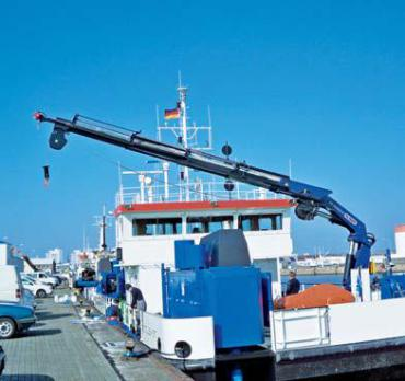 кран-манипулятор Palfinger PK65002M в морском исполнении