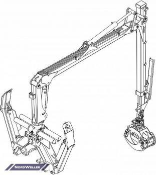 Кран-манипулятор PALMS 4.70