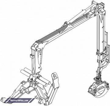 Кран-манипулятор PALMS 5.85