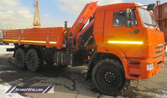 Бортовой КАМАЗ 43118 с КМУ Palfinger PK15500A