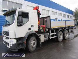 Бортовой Volvo_FE_6x4 с КМУ Palfinger PK15500A