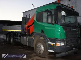 Бортовой Scania P420 с КМУ Palfinger PK30002K