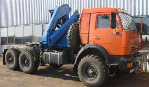 Тягач КАМАЗ 43118 с КМУ Инман ИМ 150