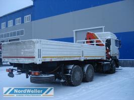Бортовой МАЗ 6312 с КМУ Palfinger PK235000B