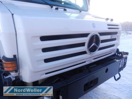 Бортовой Mercedes-Benz Unimog U4000 с КМУ Palfinger PK15500D