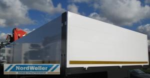Алюминиевая бортовая платформа NW Alu 7200-7500x600