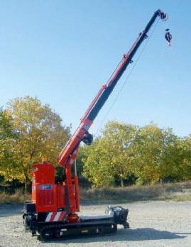 Самоходный гусеничный КМУ 350-Е4 Plus