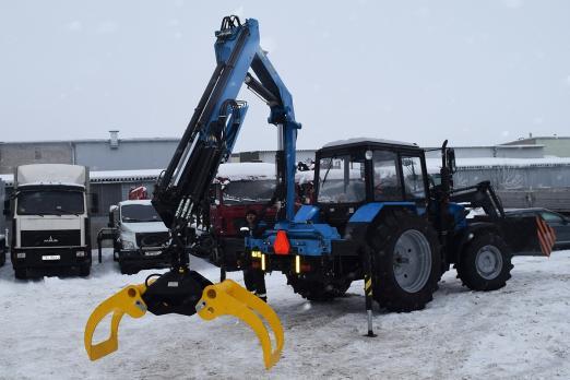 Трактор с КМУ ИНМАН ИМ 95